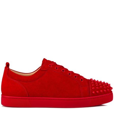 Christian Louboutin Louis Junior Spikes 'Red' (1180051R264)