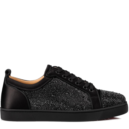 Christian Louboutin Louis Junior Strass 'Black' (1191192BK01)