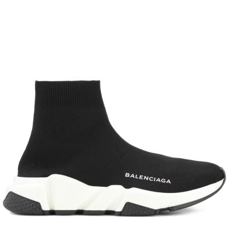 Balenciaga Speed Trainer Mid 'Black White' (530349 W05G9 1000)