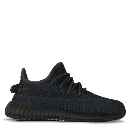 Adidas Yeezy Boost 350 V2 Kids 'Black Non-Reflective' (FU9013)