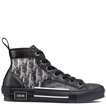 Dior Homme B23 High Kim Jones 'Dior Oblique Black' (3SH118YJP H960)