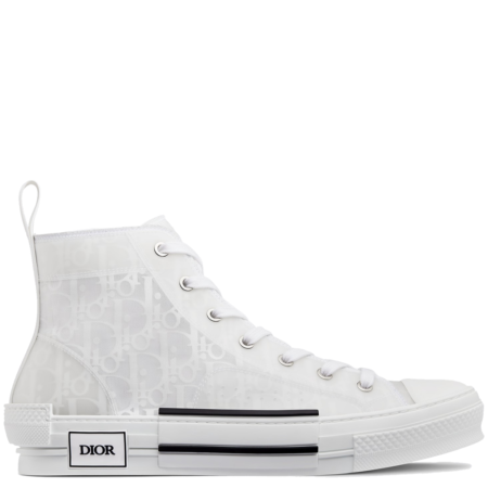 Dior Homme B23 High Kim Jones 'Dior Oblique White' (3SH118YNT H060)