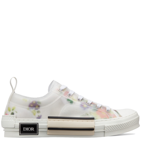 Dior Homme B23 Low Kim Jones 'Flowers White' (3SN249YJR H063)