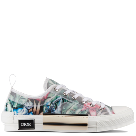 Dior Homme B23 Low Kim Jones 'Sorayama Flower Black' (3SN249YNE H963)