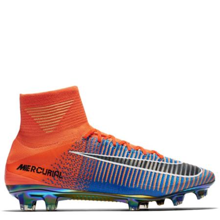Nike Mercurial Superfly 5 FG SE EA Sports 'Total Crimson Photo Blue' (852512 804)