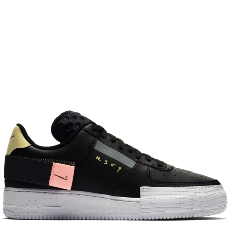Nike Air Force 1 Low 'Type Black' (CI0054 001)
