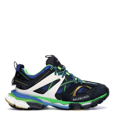 Balenciaga Track Sneaker 'Green White Blue' (542023 W1GB1 1097)