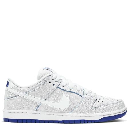 Nike SB Dunk Low PRM 'White Game Royal' (CJ6884 100)