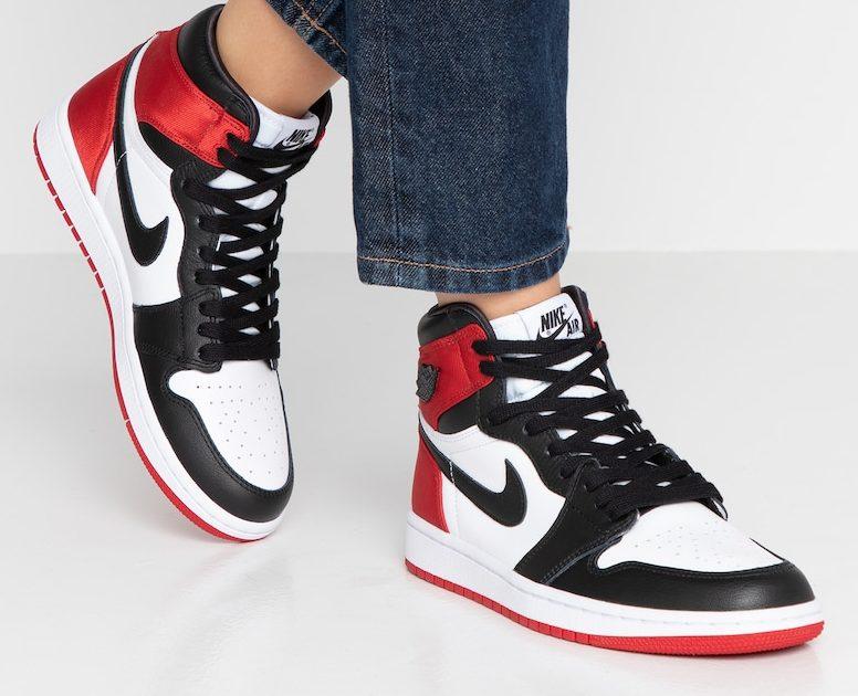 Pluggi - Der Air Jordan 1 'Satin Black Toe' für Frauen kommt ...
