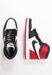 Air Jordan 1 Retro High OG 'Satin Black Toe' (W)