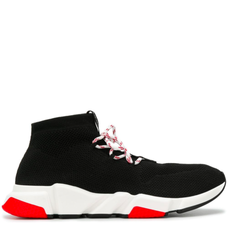 Balenciaga Bal Speed Trainer 'Black Red' (506343 W07U0)