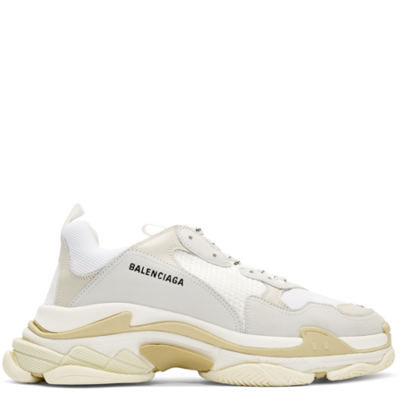 Balenciaga Triple S Trainer 'White' (534217 W09E1 9000)