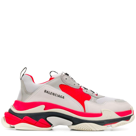 Balenciaga Triple S Trainer 'Grey Red' (536737 W09OH)