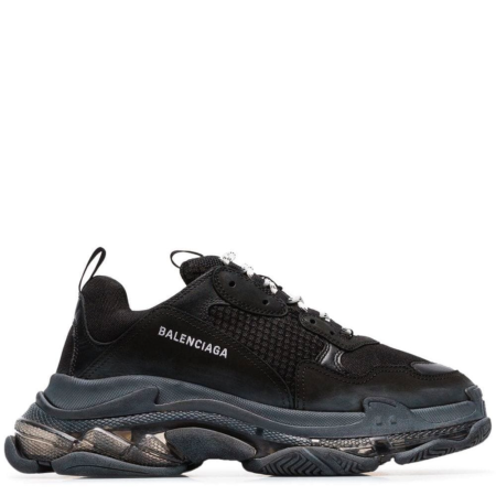 Balenciaga Triple S Trainer 'Transparent Black' (541624 W09O1)