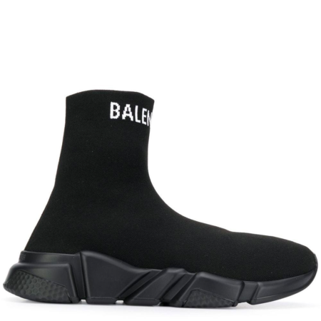 Balenciaga Speed Trainer 'Triple Black Logo' (W) (566986 W1P20 1000)