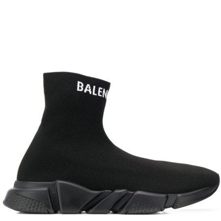 Balenciaga Speed Trainer 'Triple Black Logo' (567043 W1P20)