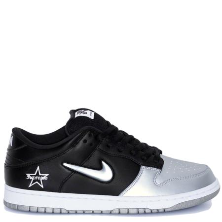Nike SB Dunk Low Supreme 'Metallic Silver' (CK3480 001)