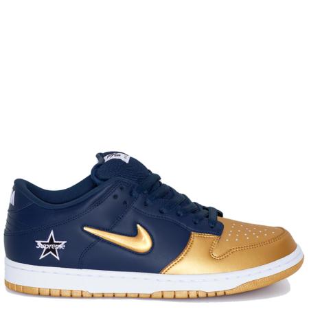 Nike SB Dunk Low Supreme 'Metallic Gold' (CK3480 700)