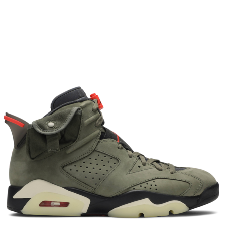 Air Jordan 6 Retro Travis Scott 'Olive' (CN1084 200)