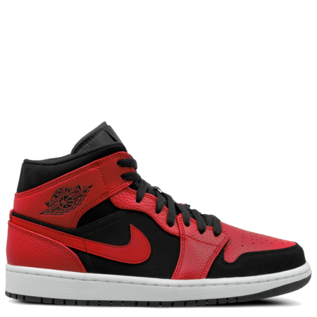 Air Jordan 1 Mid 'Bred' (554724 054)