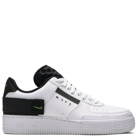 Nike Air Force 1 Low 'Type White Black Volt' (AT7859 101)