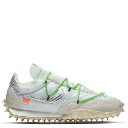 Nike Waffle Racer Off-White 'Electric Green' (W) (CD8180 100)