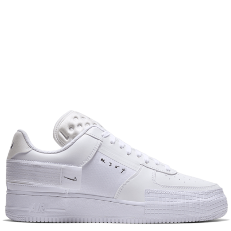 Nike Air Force 1 Type Low 'Triple White' (CQ2344 101)