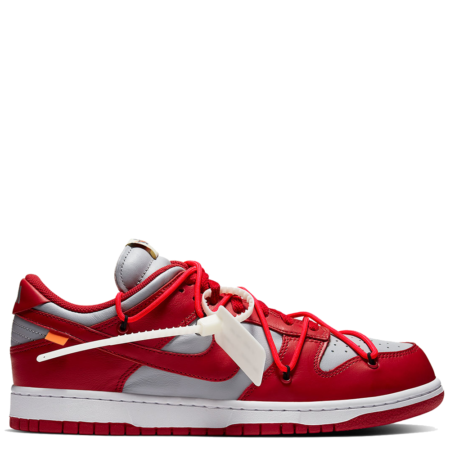 Nike Dunk Low Off-White 'University Red' (CT0856 600)