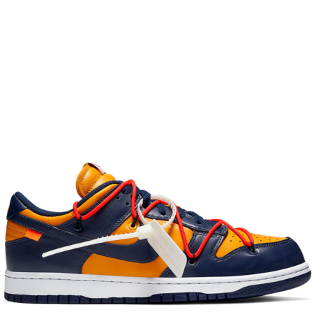Nike Dunk Low Off-White 'University Gold' (CT0856 700)