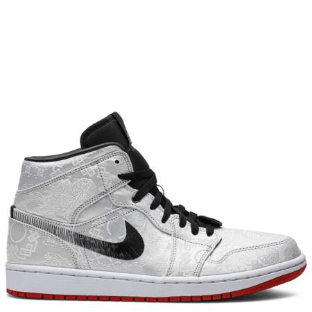 Air Jordan 1 Mid CLOT 'Fearless' (CU2804 100)