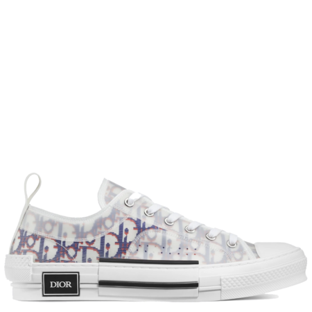 Dior Homme B23 Low Kim Jones 'Dior Oblique Blue Red' (3SN249YTG H563)