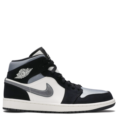 Air Jordan 1 Mid SE 'Satin Smoke Grey' (852542 011)