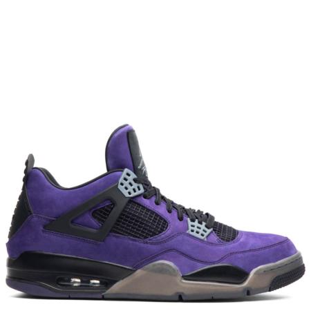 Air Jordan 4 Retro Travis Scott 'Purple Suede' (Friends & Family) (AJ4 766296)