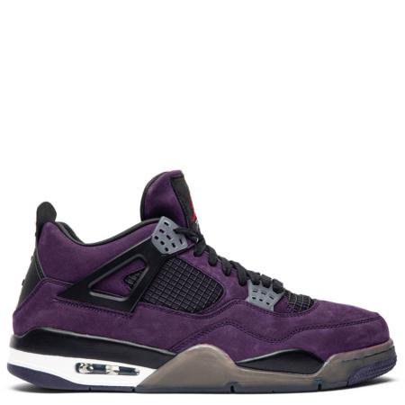 Air Jordan 4 Retro Travis Scott 'Purple Dynasty' (Friends & Family) (AJ4 766302)