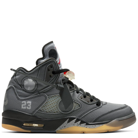 Air Jordan 5 Retro SP Off-White 'Black Muslin' (CT8480 001)