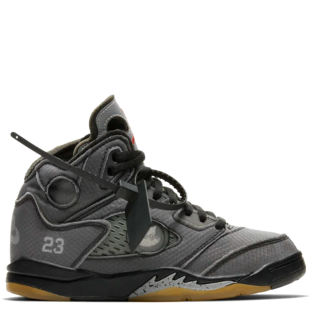 Nike Jordan 5 Retro PS Off-White (Preschool Kids) (CV4827 001)