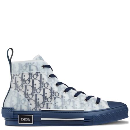 Dior Homme B23 High Kim Jones 'Dior Oblique Blue' (3SH118YNT H565)