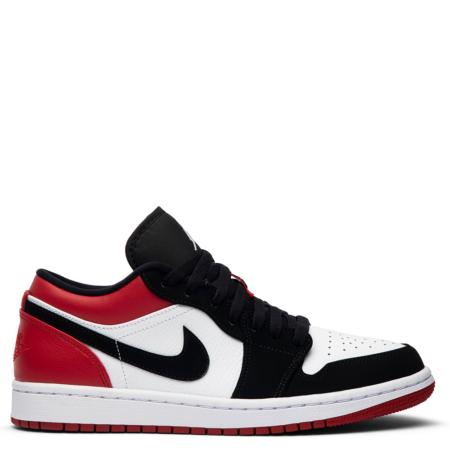 Air Jordan 1 Low 'Black Toe' (553558 116)
