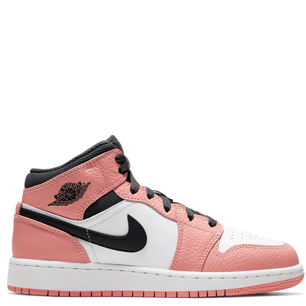 Air Jordan 1 Mid GS 'Pink Quartz'