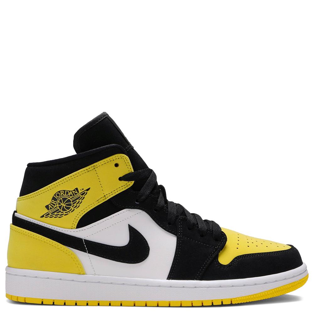 Cuarto Por el contrario Caso  Air Jordan 1 Mid SE 'Yellow Toe' | Pluggi