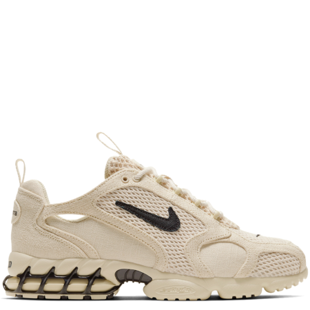 Nike Air Zoom Spiridon Caged Stüssy 'Fossil' (CQ5486 200)