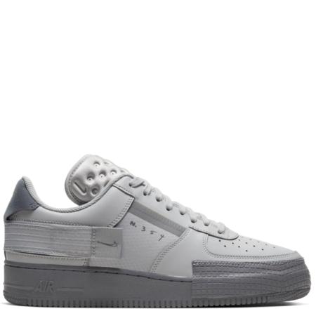 Nike Air Force 1 Type Low 'Grey Fog' (CT2584 001)