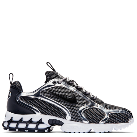 Nike Air Zoom Spiridon Caged Stüssy 'Pure Platinum' (CU1854 001)