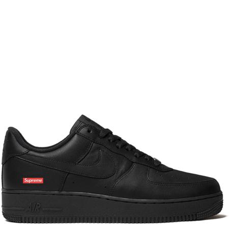 Nike Air Force 1 Low Supreme 'Black' (CU9225 001)