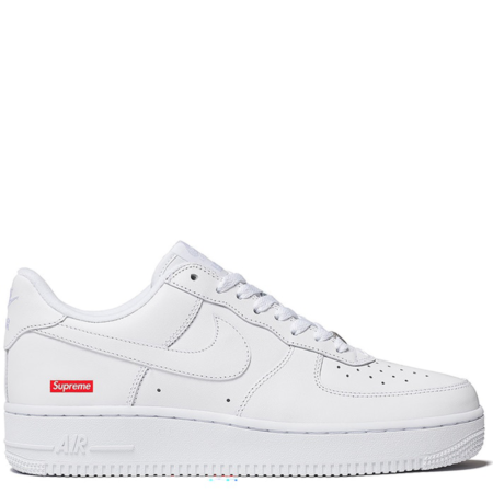 Nike Air Force 1 Low Supreme 'White' (CU9225 100)