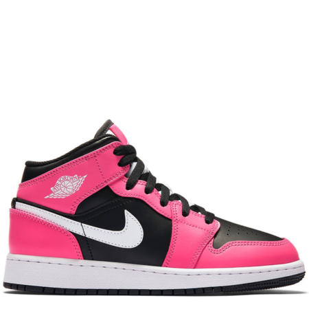 Air Jordan 1 Mid 'Pinksicle' (GS) (555112 002)