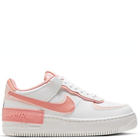 Nike Air Force 1 Shadow White Coral Pink (W) (CJ1641 101)