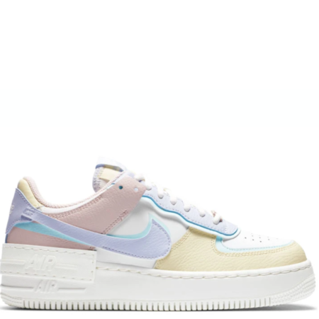 Nike Air Force 1 Shadow 'White Glacier Blue Ghost' (W) (CI0919 106)
