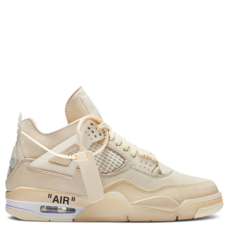 Air Jordan 4 Retro Off-White SP 'Sail' (W) (CV9388 100)