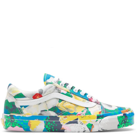 Vans Old Skool KENZO 'Floral Yellow' (VN0A4P3X01H)